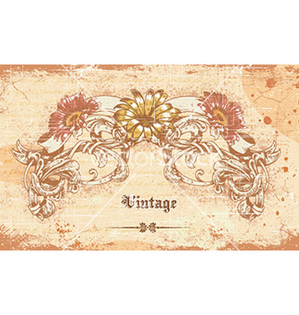 Free vintage background vector - Kostenloses vector #228601