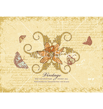 Free vintage background vector - Kostenloses vector #228741