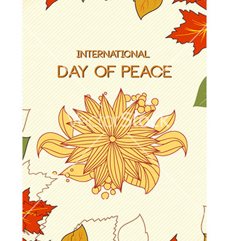 Free international day of peace vector - Kostenloses vector #228831