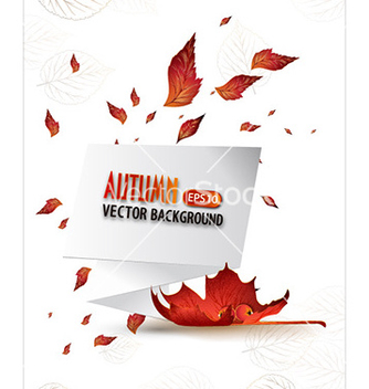Free autumn background vector - Free vector #228901