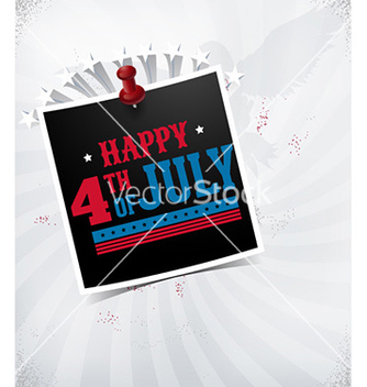 Free fourth of july vector - бесплатный vector #228991