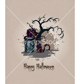 Free halloween background vector - бесплатный vector #229211