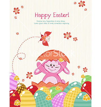 Free easter background vector - vector gratuit #229571