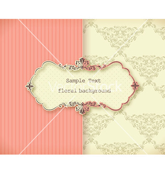 Free floral frame vector - Free vector #229631