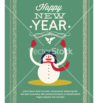 Free happy new year vector - Kostenloses vector #230111