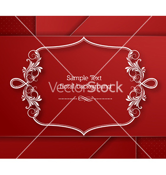 Free floral frame vector - Kostenloses vector #230531