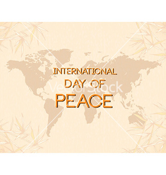 Free international day of peace vector - бесплатный vector #230581