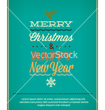 Free happy new year vector - vector #230691 gratis