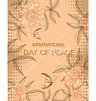 Free international day of peace vector - Kostenloses vector #230871