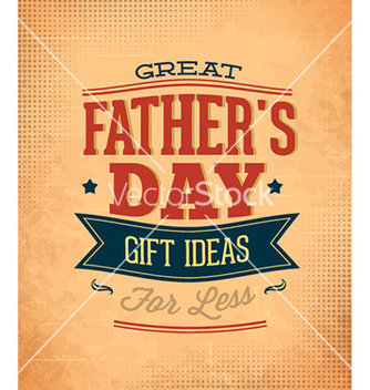Free fathers day vector - Free vector #230901