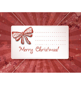 Free christmas with sticker vector - vector gratuit #230961