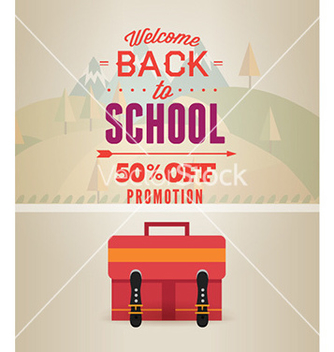 Free back to school vector - vector gratuit #231061