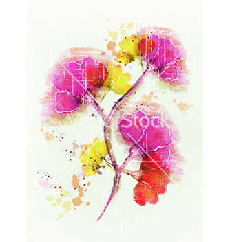 Free colorful floral vector - vector #231121 gratis