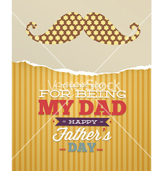 Free fathers day vector - Free vector #231131