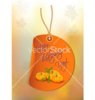 Free happy thanksgiving day with pumpkins vector - Free vector #231151
