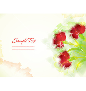 Free colorful abstract floral vector - Free vector #231291