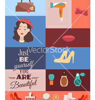 Free with fashion elements vector - Kostenloses vector #231431