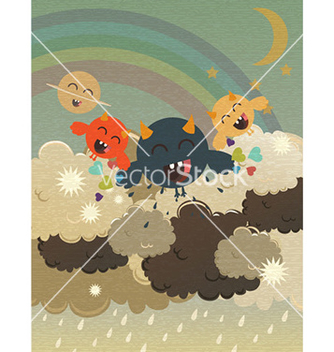 Free funny background vector - Kostenloses vector #231511
