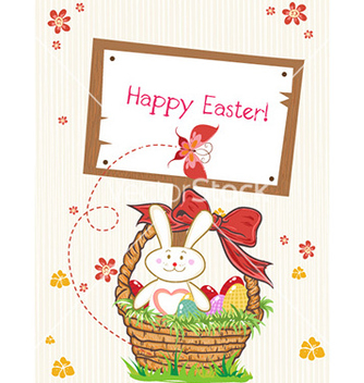 Free easter background vector - Kostenloses vector #231571