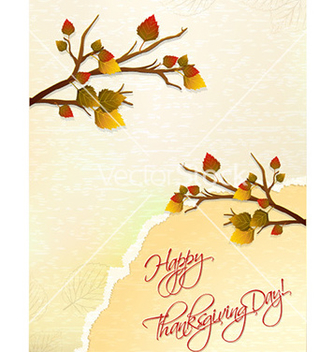 Free happy thanksgiving day with torn paper vector - Free vector #231691