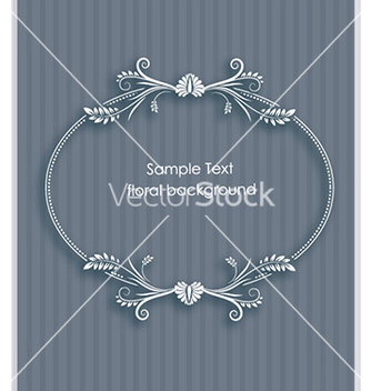 Free floral frame vector - Kostenloses vector #231721
