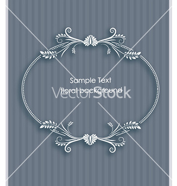 Free floral frame vector - Free vector #231721