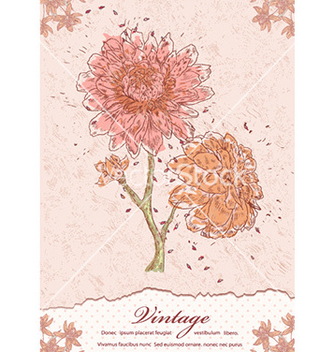 Free vintage background vector - vector #232021 gratis