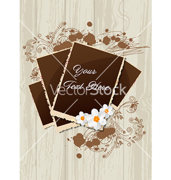 Free photo frames with grunge vector - Kostenloses vector #232141