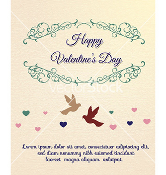 Free happy valentines day vector - vector #232151 gratis