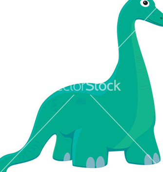 Free cartoon dinosaur vector - бесплатный vector #232501