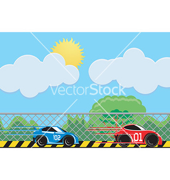 Free race cars vector - бесплатный vector #232551