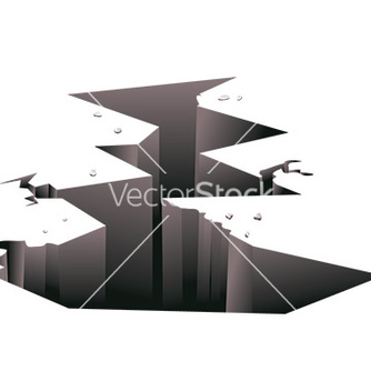 Free ground crack vector - vector gratuit #232591