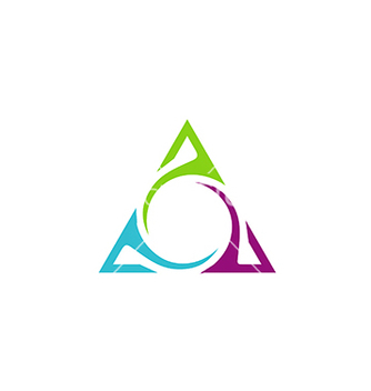 Free unusual triangle abstract business logo vector - бесплатный vector #233061