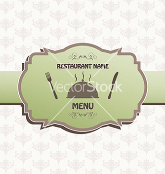 Free restaurant menu label brochure design element vector - vector #233531 gratis