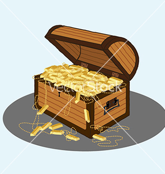 Free treasure chest vector - бесплатный vector #233561