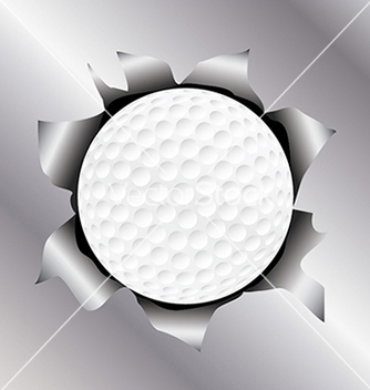 Free golf thru metal sheet vector - vector #233621 gratis