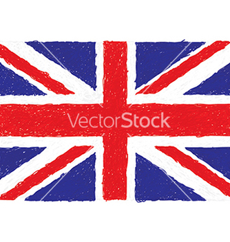 Free closeup of a united kingdom flag vector - Kostenloses vector #233761