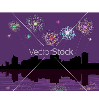 Free fireworks vector - Free vector #233771