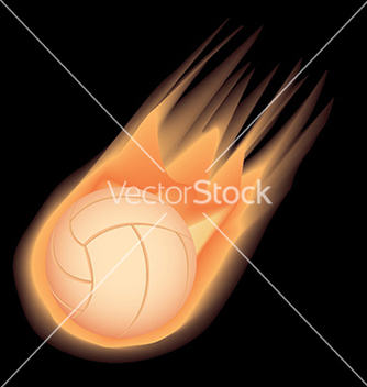 Free volleyballfire vector - Free vector #233811