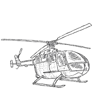 Free helicopter vector - Free vector #233821