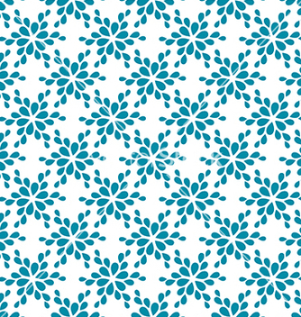 Free seamless pattern decorative flower vector - vector #233951 gratis