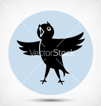 Free singing bird vector - vector gratuit #234161