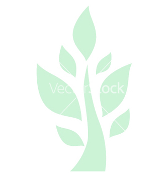Free tree green background eps10 vector - vector #234261 gratis