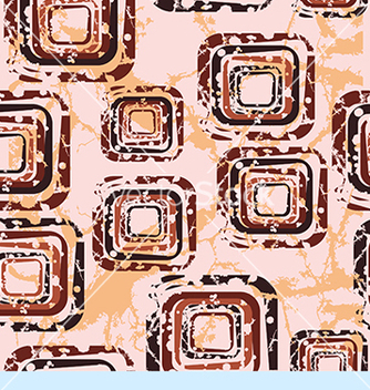 Free abstract pattern with squares on a beige vector - vector #234601 gratis