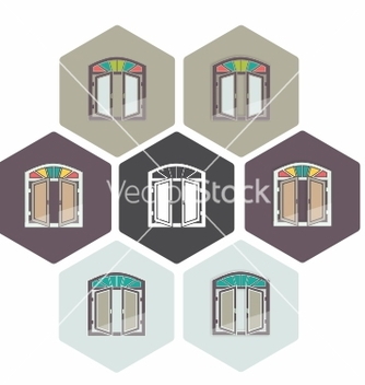Free persian window persiana vector - vector gratuit #234721