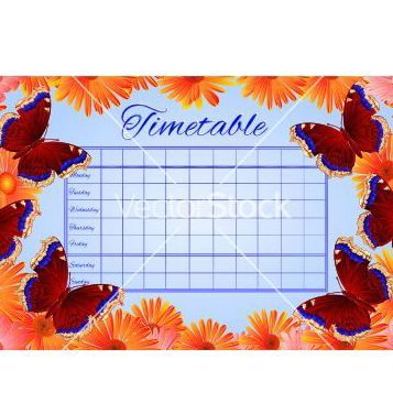 Free timetable butterfly nymphalis antiopa vector - Free vector #235021