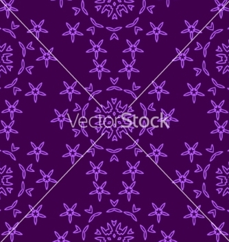 Free vintage seamless floral pattern vector - Free vector #235081