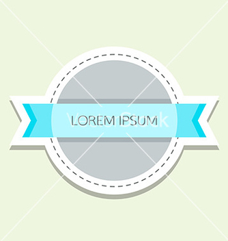 Free retro label vector - vector gratuit #235151