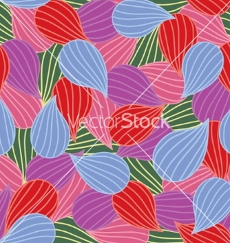 Free bulbs seamless colorful ornamental pattern vector - Kostenloses vector #235221