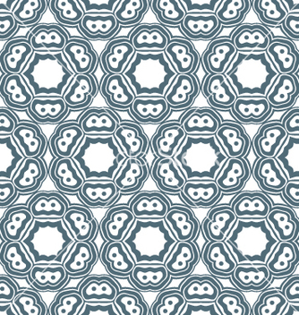 Free psychedelic abstract monochrome seamless pattern vector - бесплатный vector #235341